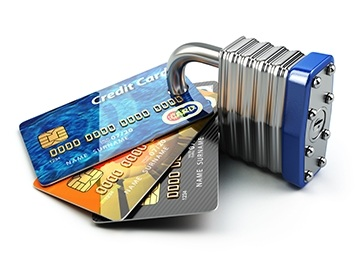 Keylock and credit cards