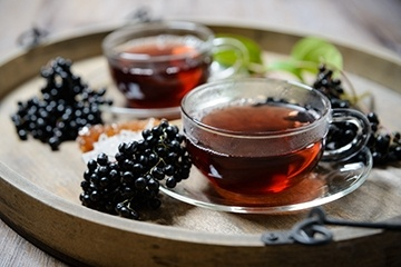 Elderberry tea image